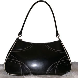 Prada Black, Patent Leather Bag
